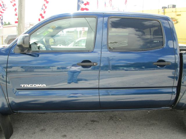 2006 TOYOTA TACOMA V6 4DR DOUBLE CAB 4WD SB 4L 5A blue 4wd type - part time abs - 4-wheel adju