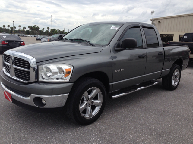 2008 DODGE RAM 1500 SLT QUAD CAB LONG BED 2WD gray 116000 miles VIN 1D7HA18N68J124565