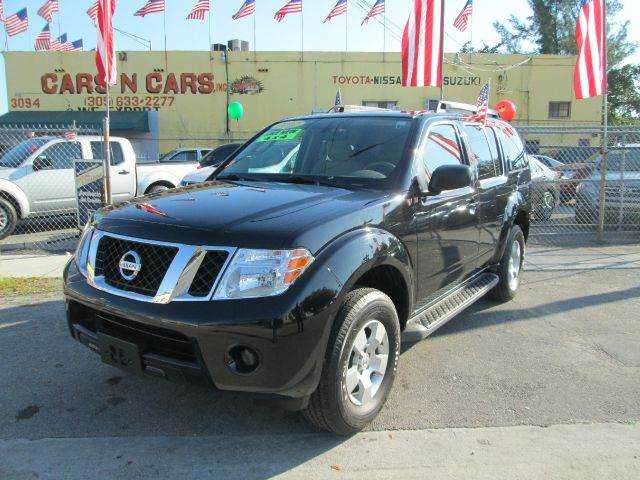 2012 NISSAN PATHFINDER S 4X4 4DR SUV black 2-stage unlocking 4wd type - part time abs - 4-wheel
