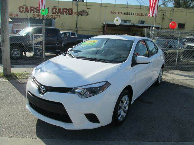 2014 TOYOTA COROLLA LE 4DR SEDAN white 2-stage unlocking - remote abs - 4-wheel air filtration