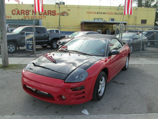 2002 MITSUBISHI ECLIPSE SPYDER GS 2DR CONVERTIBLE red anti-theft system - alarm center console c