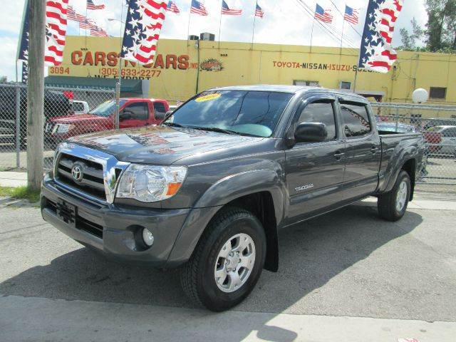 2009 TOYOTA TACOMA PRERUNNER V6 4X2 PICKUP DOUBLE C gray abs - 4-wheel active head restraints - d