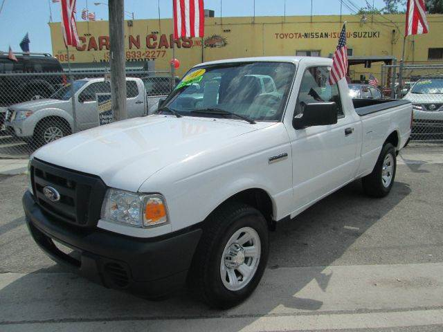 2011 FORD RANGER XL 4X2 2DR REGULAR CAB SB 0xford white abs - 4-wheel airbag deactivation - occu