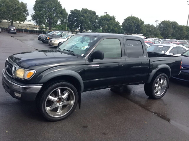 2004 TOYOTA TACOMA PRERUNNER V6 4DR DOUBLE CAB RWD black abs - 4-wheel axle ratio - 391 cassett