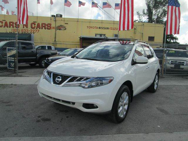 2013 NISSAN MURANO SL 4DR SUV white-pearl 2-stage unlocking - remote abs - 4-wheel active head