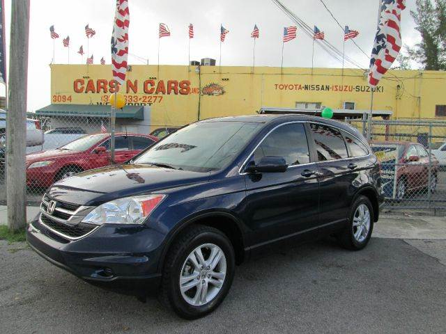 2010 HONDA CR-V EX-L 4DR SUV blue 2-stage unlocking - remote abs - 4-wheel active head restraint