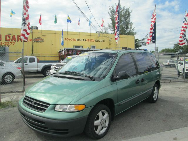 1998 PLYMOUTH VOYAGER MINI VAN green anti-brake system non-abs  4-wheel absbody style sports v
