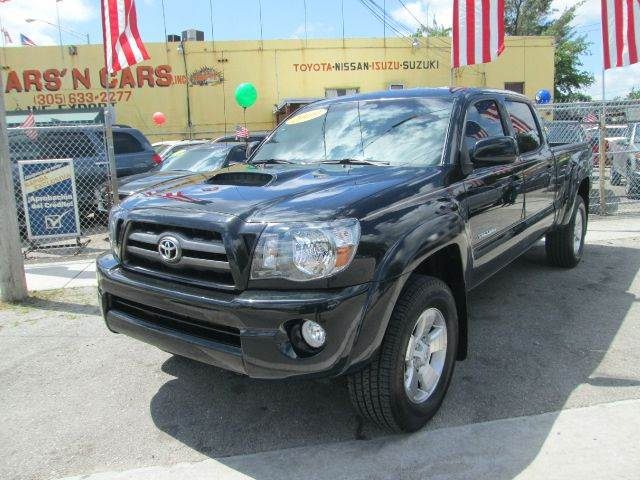 2009 TOYOTA TACOMA V6 4X4 PICKUP DOUBLE CAB LONG BE black abs - 4-wheel active head restraints -