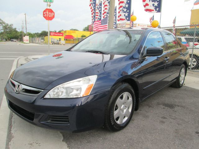 2007 HONDA ACCORD LX SEDAN AT navy blue 104644 miles VIN 3HGCM56487G701630