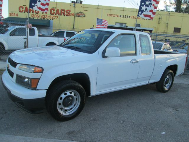 2012 CHEVROLET COLORADO WORK TRUCK 4X2 4DR EXTENDED CAB white abs - 4-wheel alternator - 125 amps