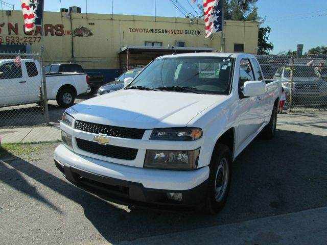 2012 CHEVROLET COLORADO WORK TRUCK 4X2 4DR EXTENDED CAB white abs - 4-wheel alternator - 125 amp
