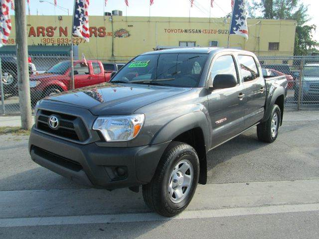 2013 TOYOTA TACOMA PRERUNNER 4X2 4DR DOUBLE CAB 50 abs - 4-wheel active head restraints - dual fr