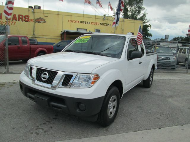 2010 NISSAN FRONTIER XE 4X2 4DR KING CAB PICKUP 5A white abs - 4-wheel alternator - 110 amps ant