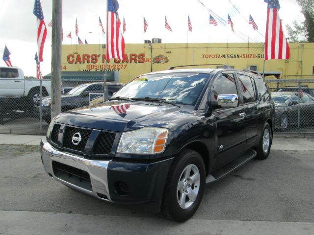 2006 NISSAN ARMADA SE 4DR SUV blue abs - 4-wheel adjustable pedals - power airbag deactivation -