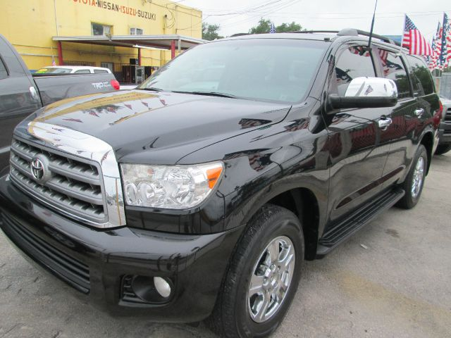 2008 TOYOTA SEQUOIA LIMITED 2WD black abs brakesair conditioningalloy wheelsamfm radioanti-br