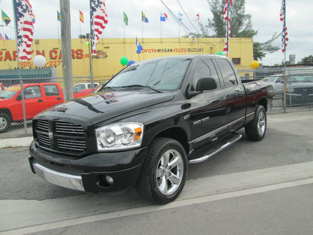 2007 DODGE RAM 1500 SLT PICKUP black abs brakesair conditioningalloy wheelsamfm radioanti-bra