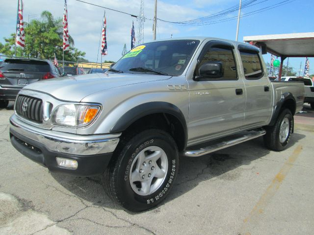 2004 TOYOTA TACOMA PRERUNNER 4DR DOUBLE CAB RWD SB silver abs - 4-wheel axle ratio - 391 casset