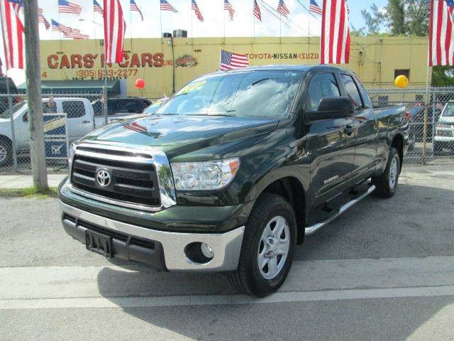 2013 TOYOTA TUNDRA GRADE 4X4 4DR DOUBLE CAB PICKUP green abs - 4-wheel air filtration airbag de