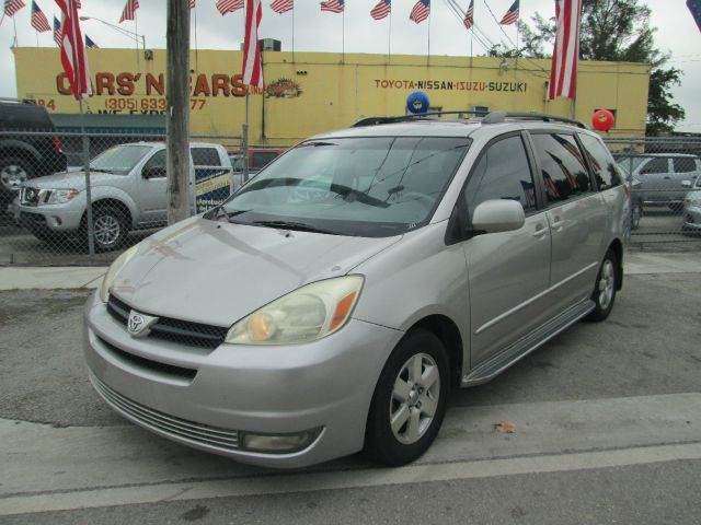 2004 TOYOTA SIENNA XLE LIMITED 7 PASSENGER 4DR MINI silver abs - 4-wheel anti-theft system - alar