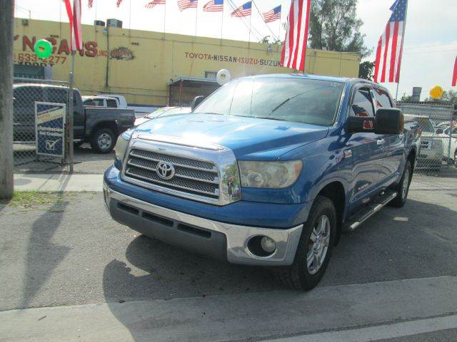 2008 TOYOTA TUNDRA SR5 4X2 PICKUP CREWMAX 4DR gray 2-stage unlocking - remote abs - 4-wheel ante