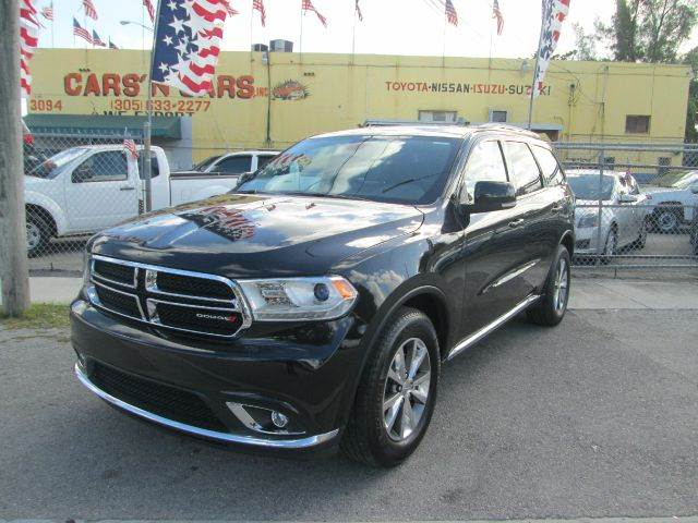 2014 DODGE DURANGO LIMITED 4DR SUV black 2-stage unlocking - remote 50 state emissions abs - 4-