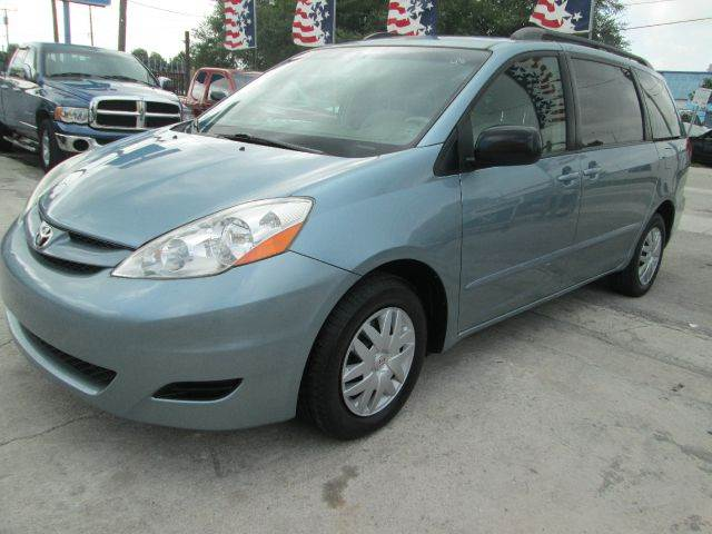 2008 TOYOTA SIENNA LE 7-PASSENGER MINI VAN PASSENGE unspecified abs - 4-wheel antenna type - mast