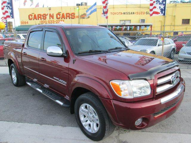2006 TOYOTA TUNDRA SR5 DOUBLE CAB 2WD burgundy abs brakesair conditioningamfm radioanti-brake