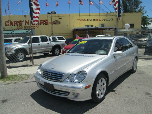 2005 MERCEDES-BENZ C-CLASS C240 4DR SEDAN siver abs - 4-wheel alloy wheels anti-theft system -