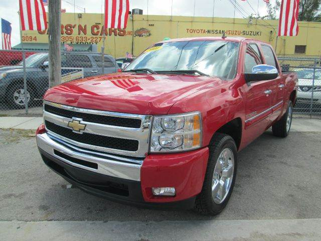 2011 CHEVROLET SILVERADO 1500 LT 4X2 4DR CREW CAB 58 FT SB red abs - 4-wheel alternator - 145