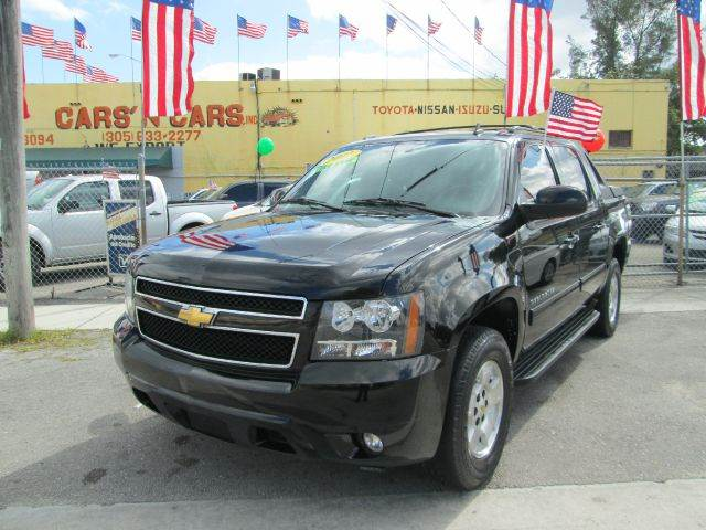 2011 CHEVROLET AVALANCHE LT 4X2 4DR CREW CAB PICKUP black 2-stage unlocking abs - 4-wheel adjust