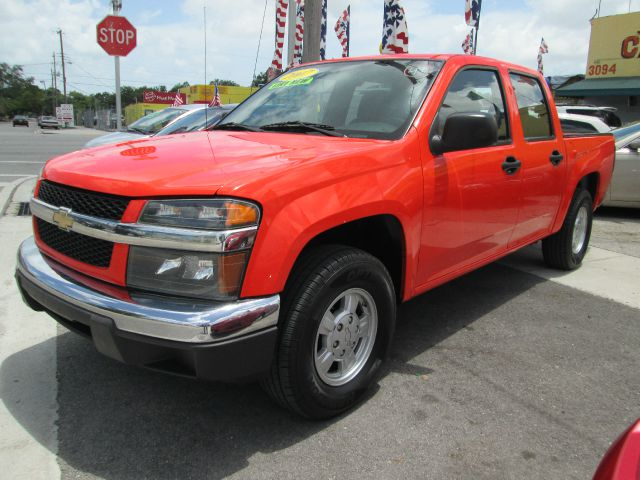 2007 CHEVROLET COLORADO LT2 CREW CAB 2WD orange 153329 miles VIN 1GCCS139778168964