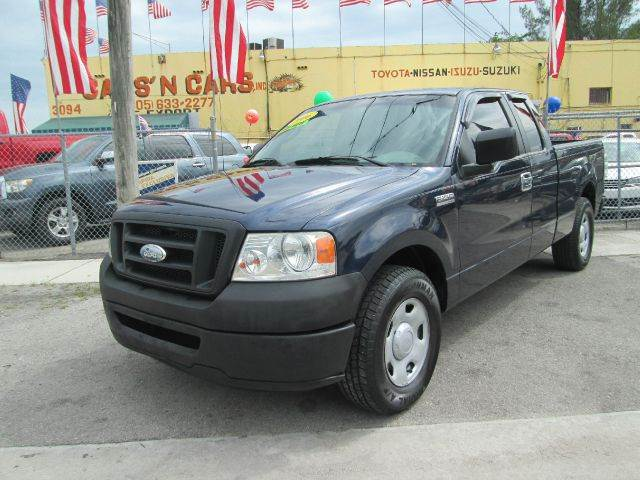 2006 FORD F-150 XL 4DR SUPERCAB STYLESIDE 65 FT blue abs - 4-wheel airbag deactivation - occupa