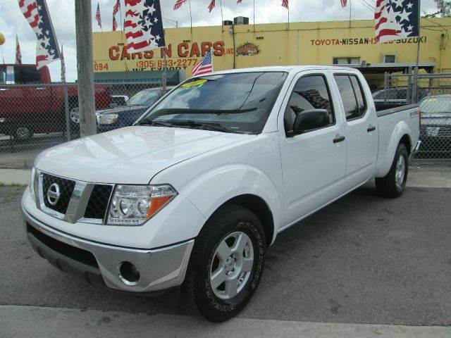 2007 NISSAN FRONTIER SE 4DR CREW CAB 61 FT SB 4L V white abs - 4-wheel antenna type - mast an