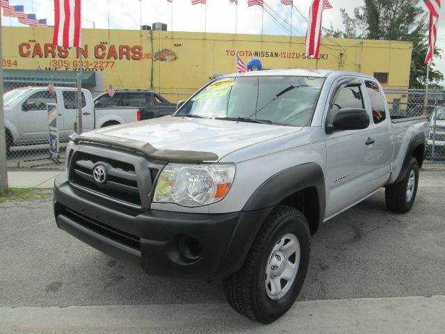 2008 TOYOTA TACOMA V6 4X4 4DR ACCESS CAB 61 FT SB silver abs - 4-wheel airbag deactivation - p