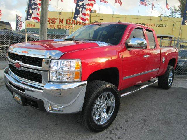 2008 CHEVROLET SILVERADO 2500HD LT1 2WD 4DR EXTENDED CAB SB red abs - 4-wheel air filtration alt
