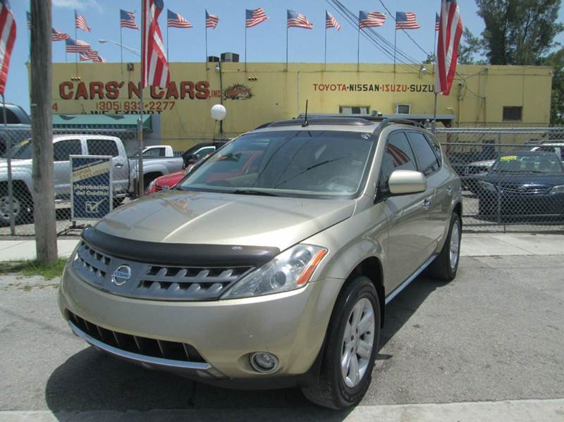 2004 NISSAN MURANO SL 4DR SUV silver abs - 4-wheel anti-theft system - alarm center console cl