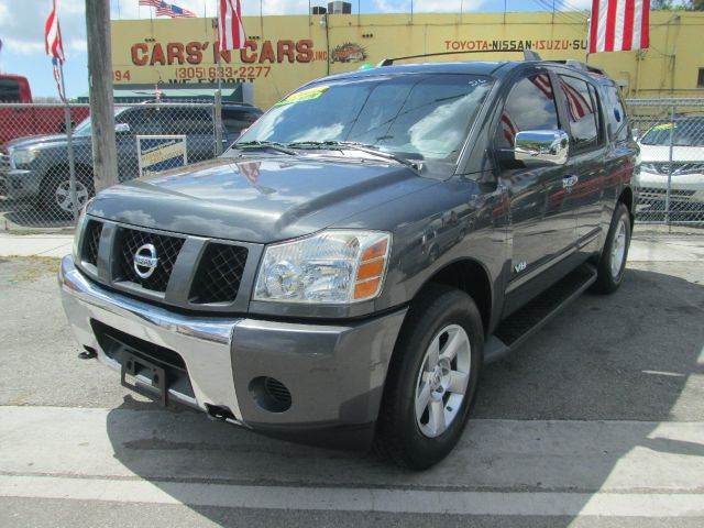 2006 NISSAN ARMADA SE 4DR SUV 4WD gray 4wd type - on demand abs - 4-wheel adjustable pedals - p