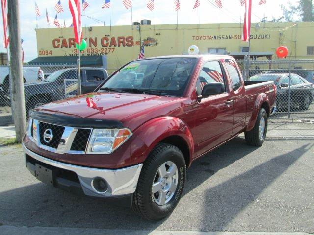 2008 NISSAN FRONTIER NISMO 4X2 PICKUP EXTENDED CAB red 2-stage unlocking - remote abs - 4-wheel