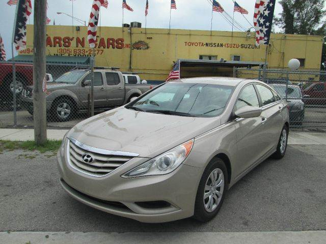 2011 HYUNDAI SONATA GLS 4DR SEDAN 6M gold 2-stage unlocking abs - 4-wheel active head restraints