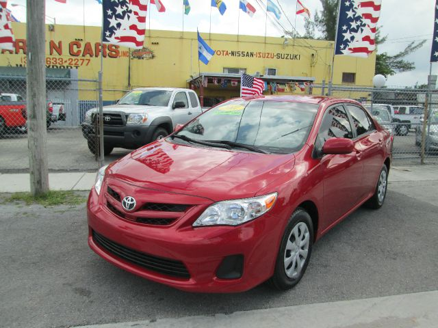 2011 TOYOTA COROLLA LE 4-SPEED AT red abs brakesair conditioningamfm radioanti-brake system 4