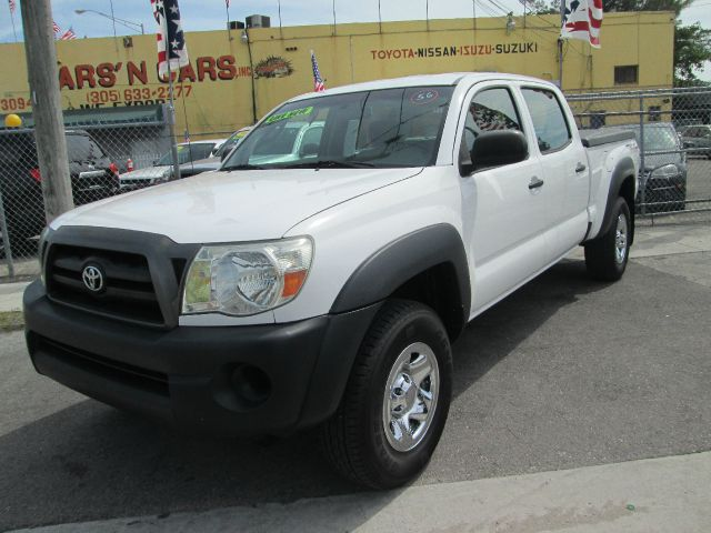 2007 TOYOTA TACOMA PRERUNNER DOUBLE CAB LONG BED white abs brakesair conditioningamfm radioant