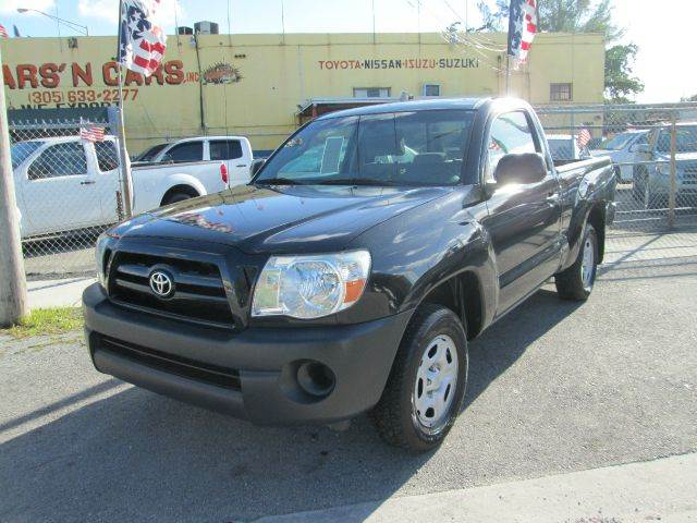 2009 TOYOTA TACOMA BASE 4X2 2DR REGULAR CAB 61 FT black abs - 4-wheel active head restraints -