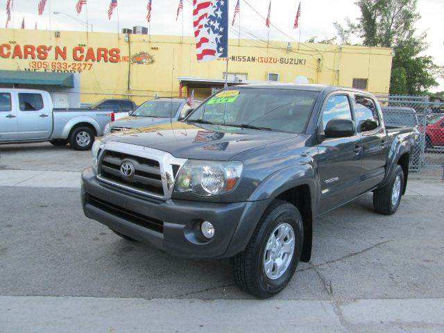 2009 TOYOTA TACOMA V6 4X4 4DR DOUBLE CAB 50 FT SB gray abs - 4-wheel active head restraints - d