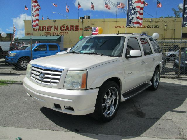 2003 CADILLAC ESCALADE BASE RWD 4DR SUV white abs - 4-wheel adjustable pedals - power alloy whee