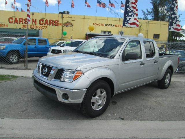 2008 NISSAN FRONTIER SE V6 4X2 4DR CREW CAB 61 FT S silver abs - 4-wheel active head restraints