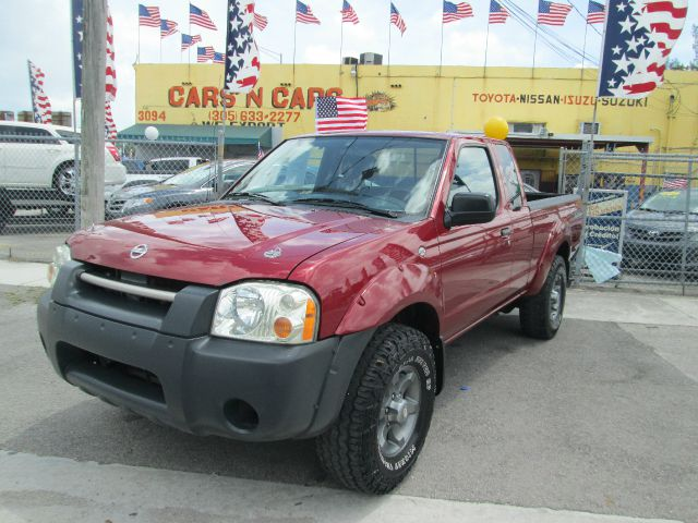 2004 NISSAN FRONTIER XE-V6 DESERT RUNNER 2DR KING CAB red abs - 4-wheel axle ratio - 464 center