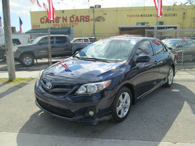 2013 TOYOTA COROLLA S SPECIAL EDITION 4DR SEDAN abs - 4-wheel active head restraints - dual front