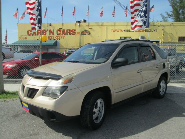 2002 PONTIAC AZTEK BASE FWD 4DR SUV tan 16 inch wheels abs - 4-wheel alloy wheels anti-theft al