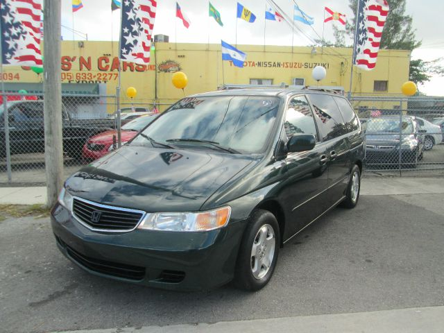 2000 HONDA ODYSSEY EX MINI VAN green abs brakesair conditioningalloy wheelsamfm radioanti-bra