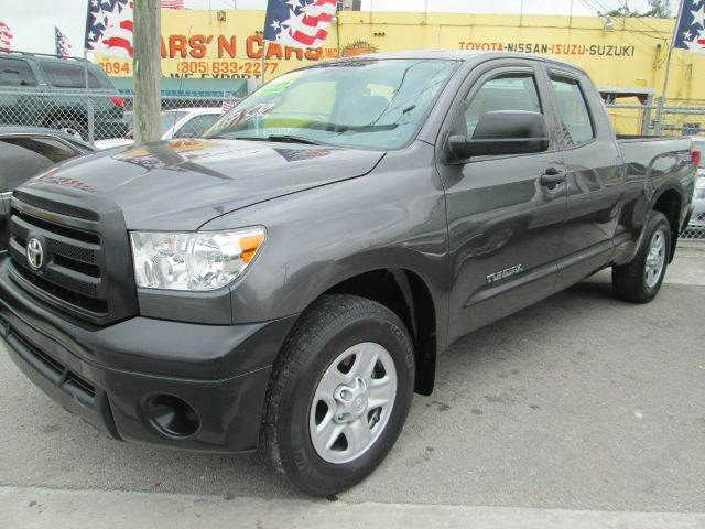 2012 TOYOTA TUNDRA GRADE 4X2 4DR DOUBLE CAB PICKUP gray abs - 4-wheel auxiliary audio input - jac